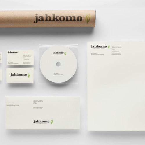 Jahkomo Corporate Identification Design.